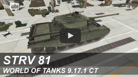 """""""Strv 81"""" на YouTube"""