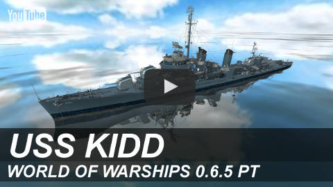 Обзор USS Kidd на YouTube