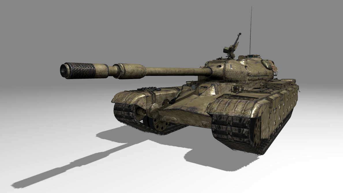 Польский тяжёлый танк 50TP prototyp