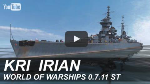 Индонезийский крейсер «Irian»