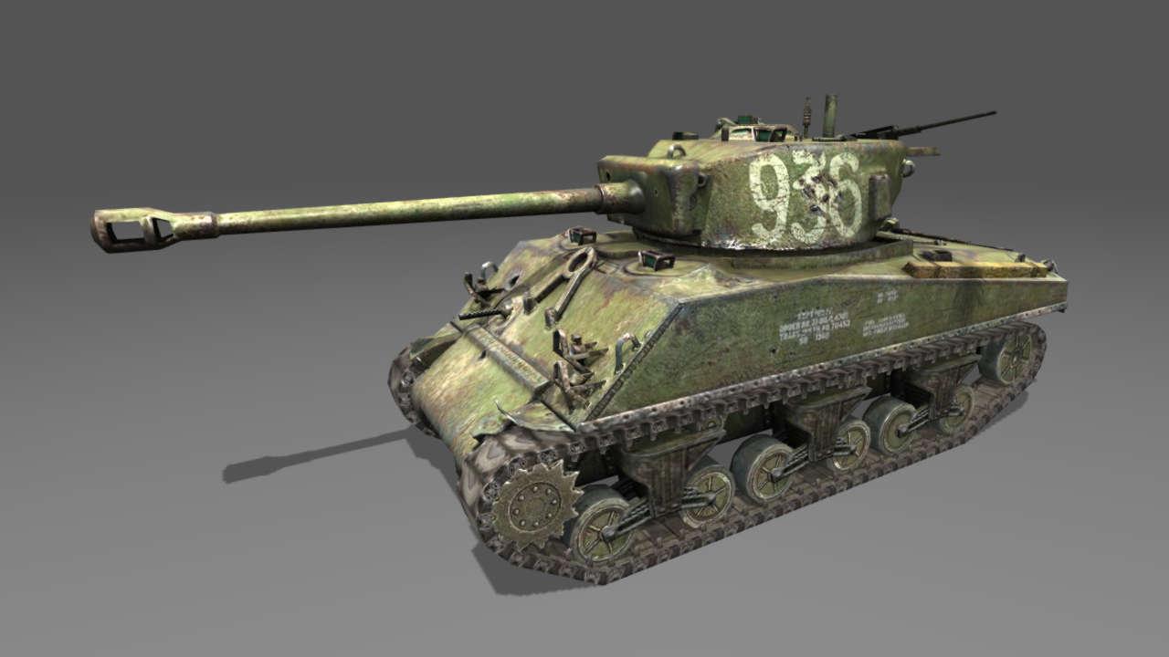 М4-А2 Шерман Лозы