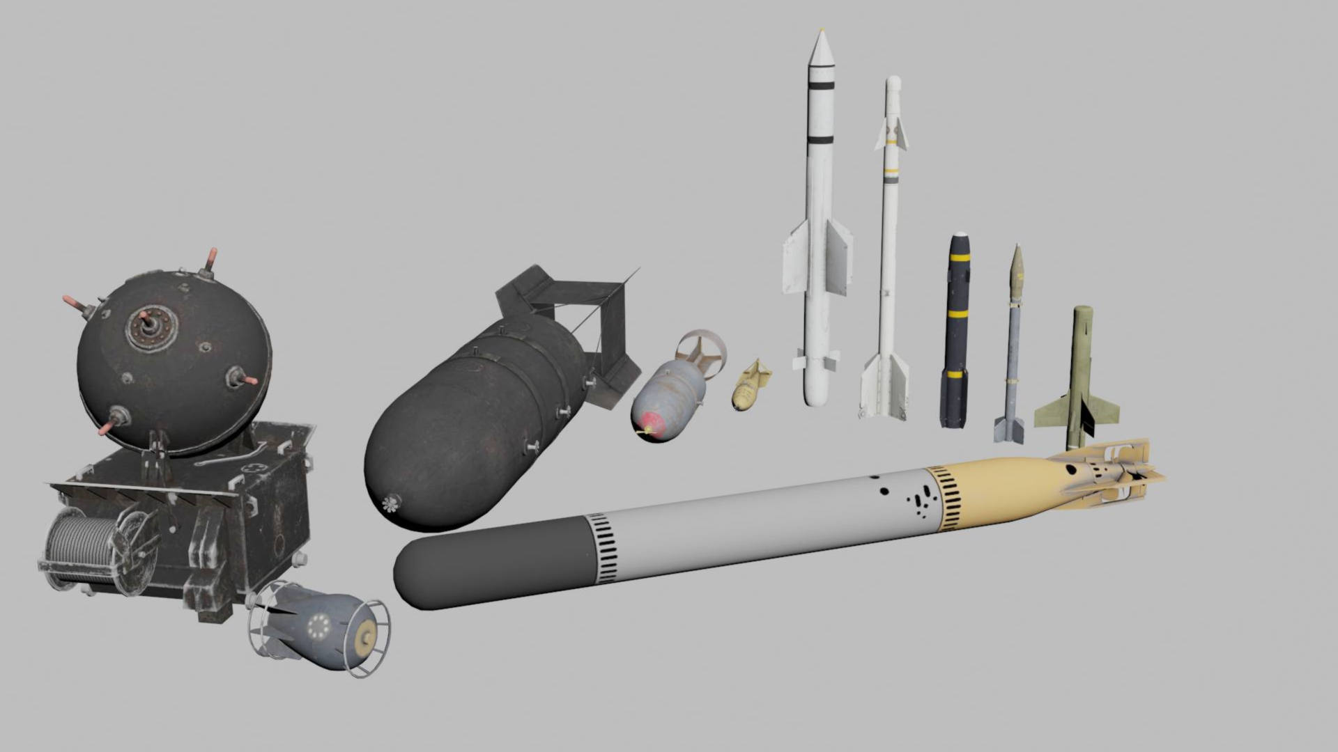 Ракеты, бомбы, снаряды