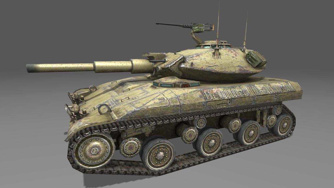 Американcкий легкий танк T92E1