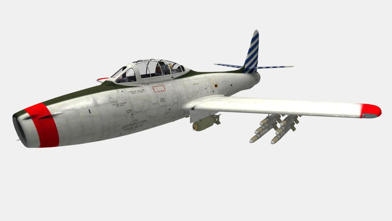 F-84B Thunderjet